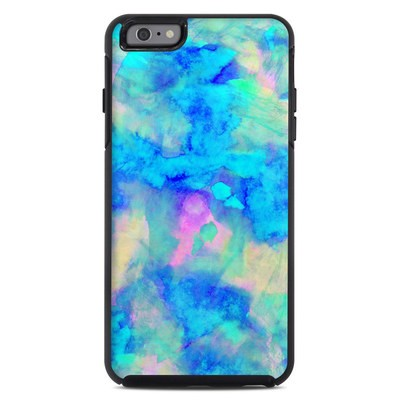 OtterBox Symmetry iPhone 6 Plus Case Skin - Electrify Ice Blue