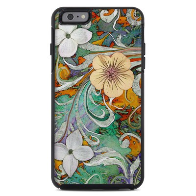 OtterBox Symmetry iPhone 6 Plus Case Skin - Sangria Flora
