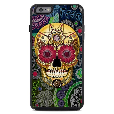 OtterBox Symmetry iPhone 6 Plus Case Skin - Sugar Skull Paisley