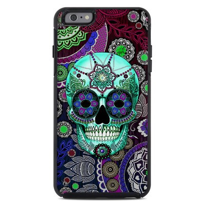 OtterBox Symmetry iPhone 6 Plus Case Skin - Sugar Skull Sombrero