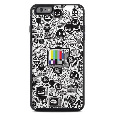 OtterBox Symmetry iPhone 6 Plus Case Skin - TV Kills Everything