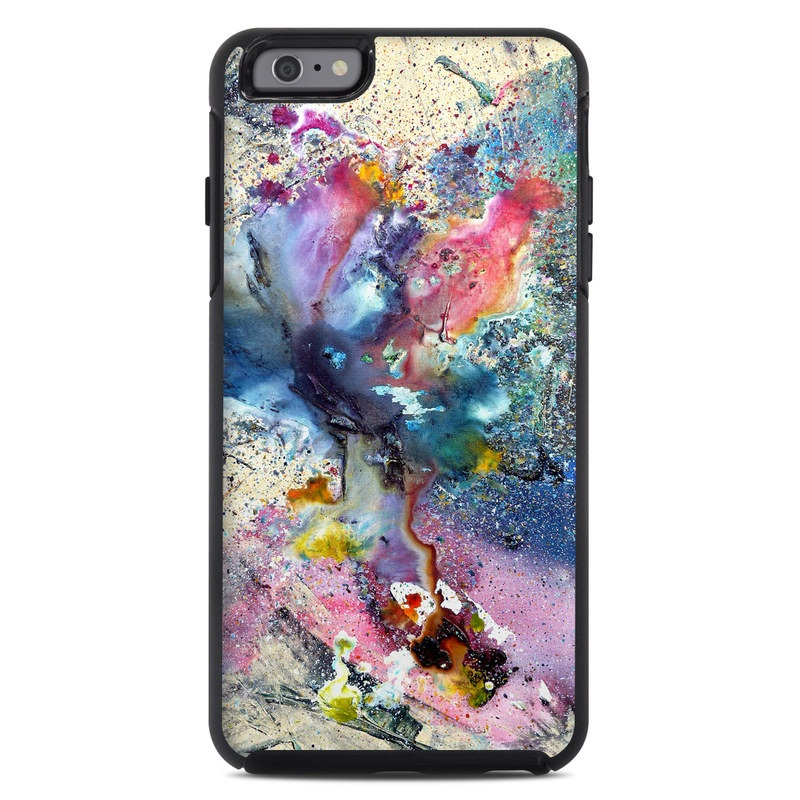 Otterbox symmetry iphone 6 plus case skin cosmic flower for Creative iphone case ideas