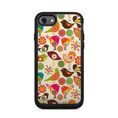 OtterBox Symmetry iPhone 7 Case Skin - Bird Flowers