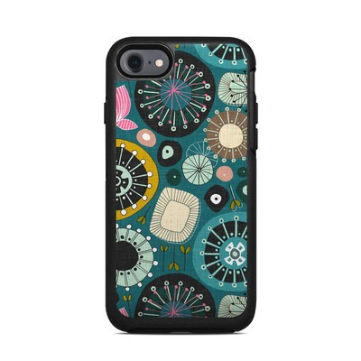 OtterBox Symmetry iPhone 7 Case Skin - Blooms Teal