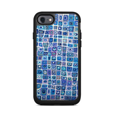 OtterBox Symmetry iPhone 7 Case Skin - Blue Monday