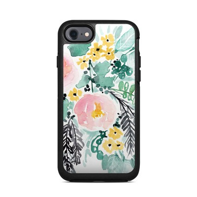 OtterBox Symmetry iPhone 7 Case Skin - Blushed Flowers
