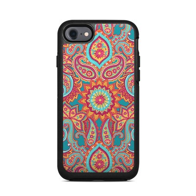 OtterBox Symmetry iPhone 7 Case Skin - Carnival Paisley