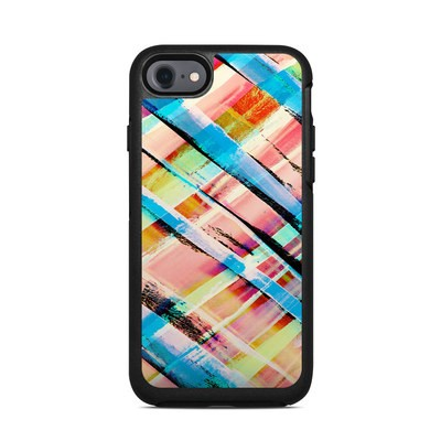 OtterBox Symmetry iPhone 7 Case Skin - Check Stripe