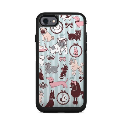 OtterBox Symmetry iPhone 7 Case Skin - Doggy Boudoir