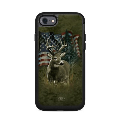 OtterBox Symmetry iPhone 7 Case Skin - Deer Flag
