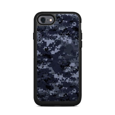 OtterBox Symmetry iPhone 7 Case Skin - Digital Navy Camo