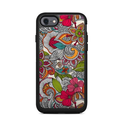 OtterBox Symmetry iPhone 7 Case Skin - Doodles Color