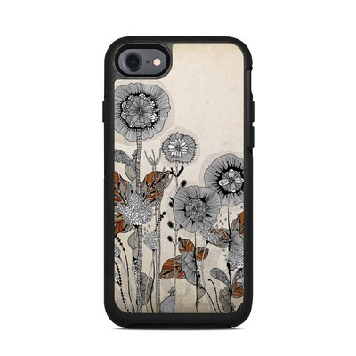 OtterBox Symmetry iPhone 7 Case Skin - Four Flowers
