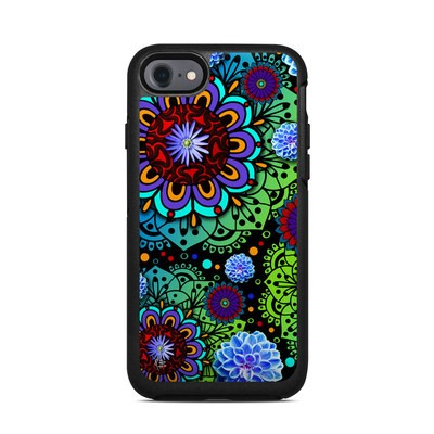 OtterBox Symmetry iPhone 7 Case Skin - Funky Floratopia