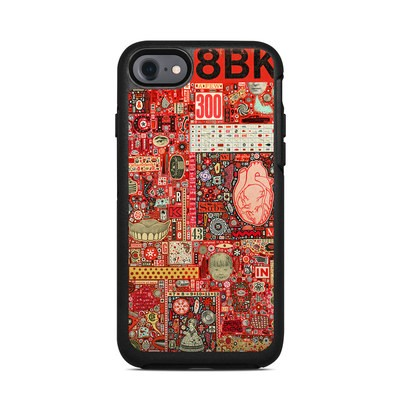 OtterBox Symmetry iPhone 7 Case Skin - Heart and Teeth