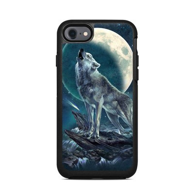 OtterBox Symmetry iPhone 7 Case Skin - Howling Moon Soloist