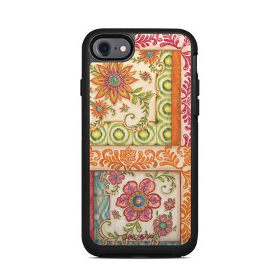 OtterBox Symmetry iPhone 7 Case Skin - Ikat Floral