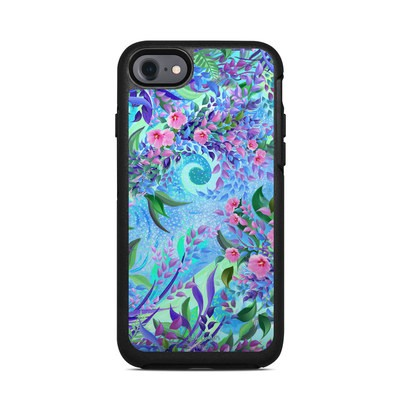 OtterBox Symmetry iPhone 7 Case Skin - Lavender Flowers