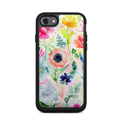 OtterBox Symmetry iPhone 7 Case Skin - Loose Flowers
