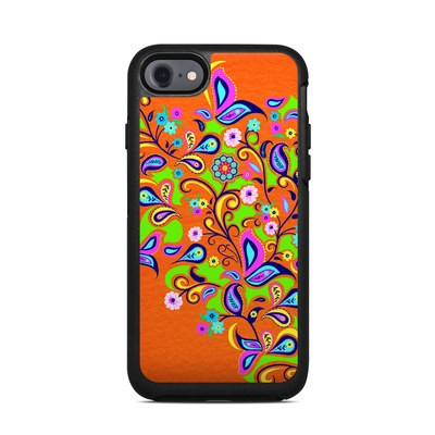 OtterBox Symmetry iPhone 7 Case Skin - Orange Squirt