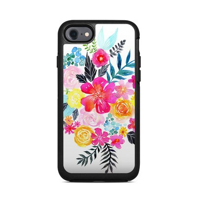 OtterBox Symmetry iPhone 7 Case Skin - Pink Bouquet