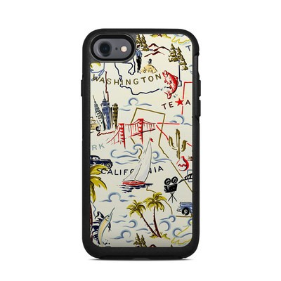 OtterBox Symmetry iPhone 7 Case Skin - Road Trip