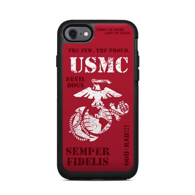 OtterBox Symmetry iPhone 7 Case Skin - Semper Fi