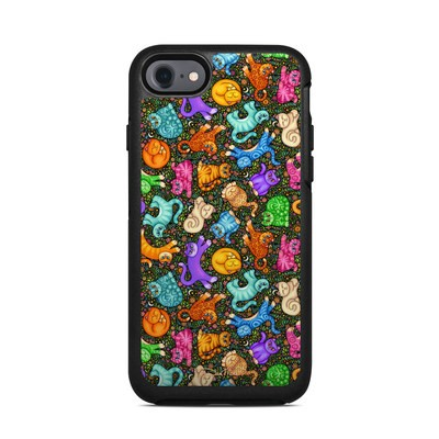 OtterBox Symmetry iPhone 7 Case Skin - Sew Catty