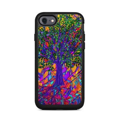 OtterBox Symmetry iPhone 7 Case Skin - Stained Glass Tree