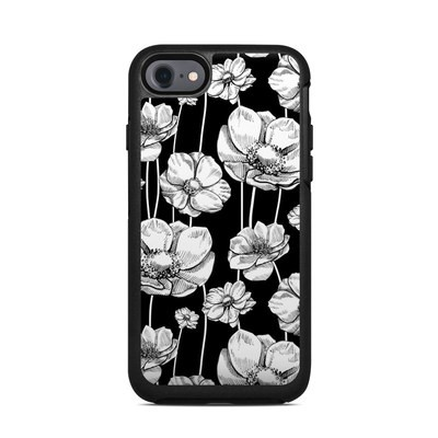 OtterBox Symmetry iPhone 7 Case Skin - Striped Blooms