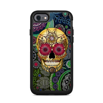 OtterBox Symmetry iPhone 7 Case Skin - Sugar Skull Paisley