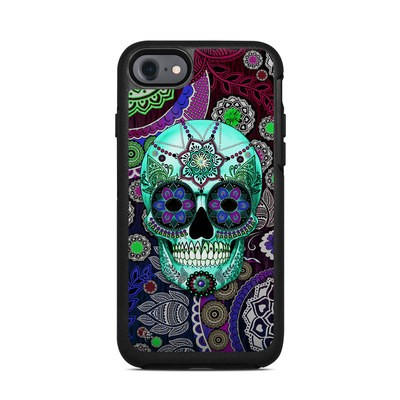 OtterBox Symmetry iPhone 7 Case Skin - Sugar Skull Sombrero