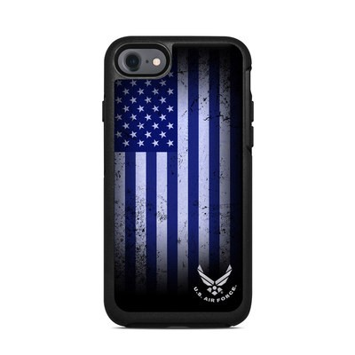 OtterBox Symmetry iPhone 7 Case Skin - USAF Flag