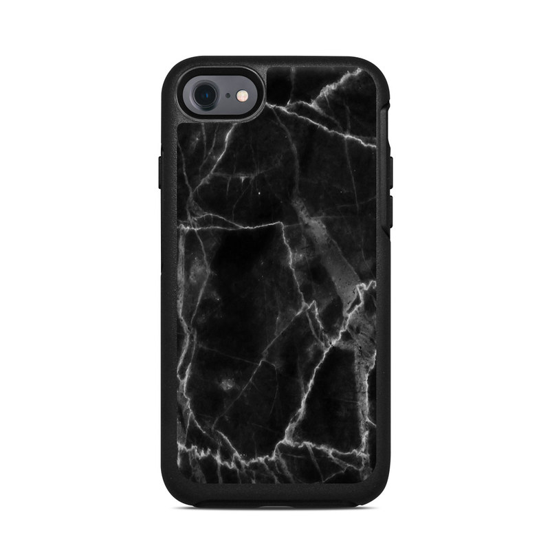 huge selection of aa49d c6fd7 OtterBox Symmetry iPhone 7 Case Skin - Black Marble