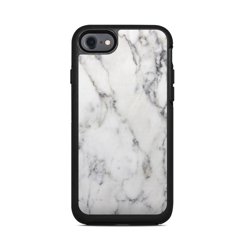 buy popular cefb0 53f8e OtterBox Symmetry iPhone 7 Case Skin - White Marble