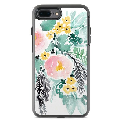 OtterBox Symmetry iPhone 7 Plus Case Skin - Blushed Flowers