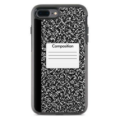 OtterBox Symmetry iPhone 7 Plus Case Skin - Composition Notebook