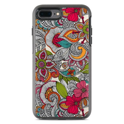 OtterBox Symmetry iPhone 7 Plus Case Skin - Doodles Color