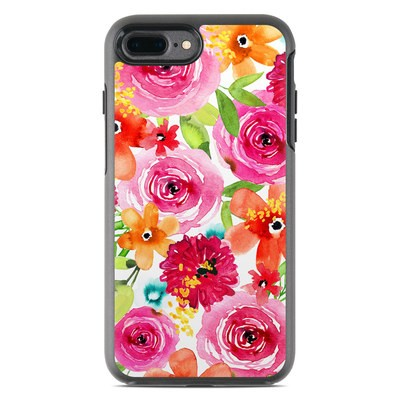 OtterBox Symmetry iPhone 7 Plus Case Skin - Floral Pop