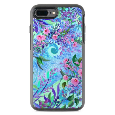 OtterBox Symmetry iPhone 7 Plus Case Skin - Lavender Flowers