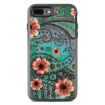 OtterBox Symmetry iPhone 7 Plus Case Skin - Paisley Paradise