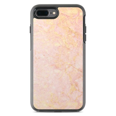 OtterBox Symmetry iPhone 7 Plus Case Skin - Rose Gold Marble