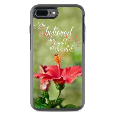 OtterBox Symmetry iPhone 7 Plus Case Skin - She Believed