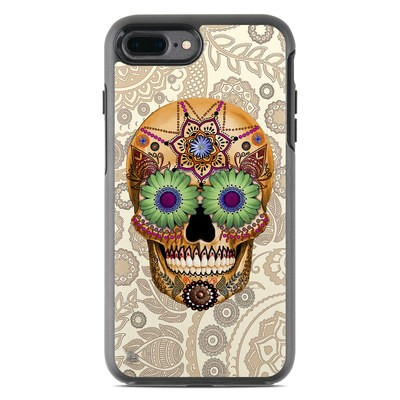 OtterBox Symmetry iPhone 7 Plus Case Skin - Sugar Skull Bone