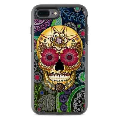 OtterBox Symmetry iPhone 7 Plus Case Skin - Sugar Skull Paisley