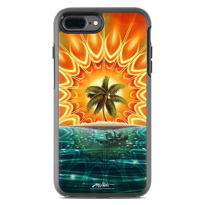 OtterBox Symmetry iPhone 7 Plus Case Skin - Sundala Tropic