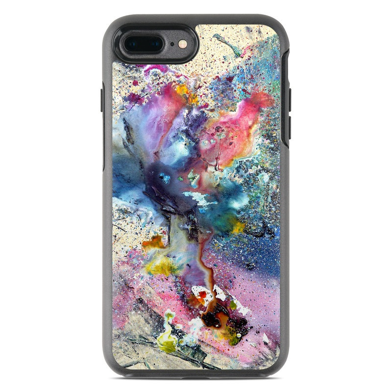 new product 80f99 e75cb OtterBox Symmetry iPhone 7 Plus Case Skin - Cosmic Flower