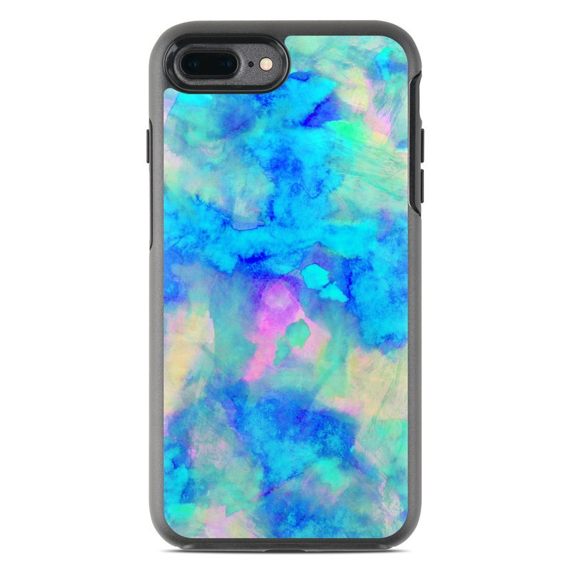 cheap for discount b2c45 683ee OtterBox Symmetry iPhone 7 Plus Case Skin - Electrify Ice Blue