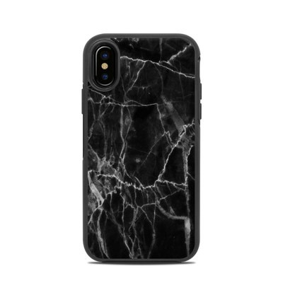 OtterBox Symmetry iPhone X Case Skin - Black Marble