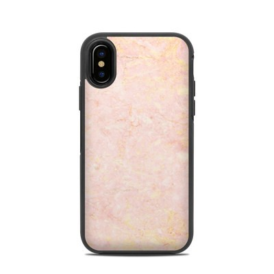OtterBox Symmetry iPhone X Case Skin - Rose Gold Marble